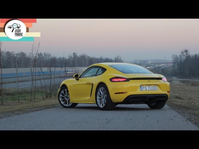 Porsche 718 Cayman 2.0 300 KM: Idealne proporcje - 204 Jazdy Próbne