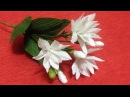 How to Make Jasmine Crepe Paper Flowers - Flower Making of Crepe Paper - Paper Flower Tutorial