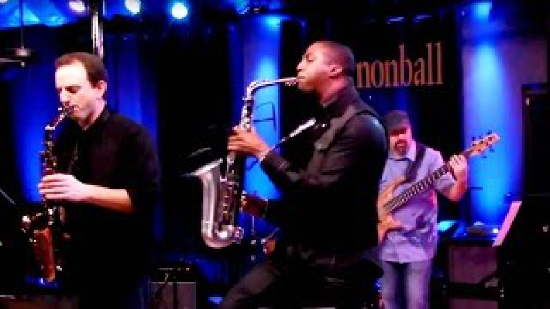 Uptown Funk Mark Ronson ft. Bruno Mars: The Cannonball Band saxophone cover ft Eric Darius