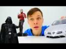 Машина для Звездного Лорда (Стражи Галактики)! Тест-Драйв с Дартом Вейдером! Игры ЗвёздныеВойны
