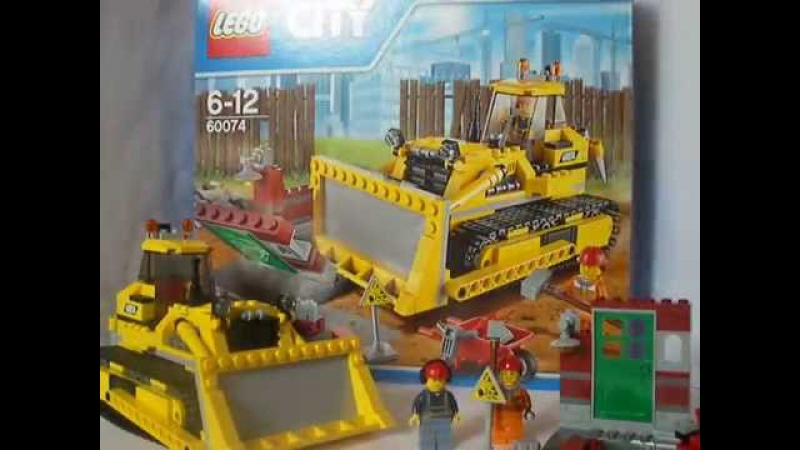 Lego City Bulldozer 60071 Review Set