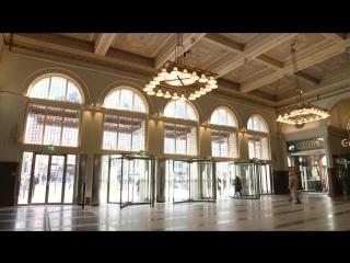 Входное решение Boon Edam на Центральном Вокзале Стокгольма