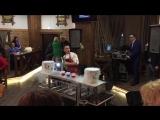 Бармен-шоу на открытии ресторана Адмирал