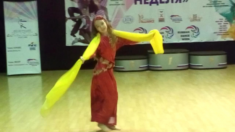 Шааби - Александра Рязанкина - Танцевальная неделя 1 октября 2016