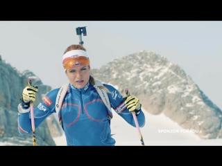 Габриэла Коукалова в рекламе Alpine