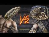 Смертельная битва: игуаны против змей