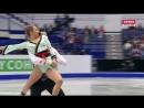 European Championships 2017. Pairs - SP. Lola ESBRAT / Andrei NOVOSELOV