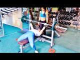 Bench press 50-52.5 kg 02.06.2017 года (Ксения Алмасова)