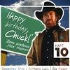 10.03 Happy Birthday Chuck! @Van Gogh Bar