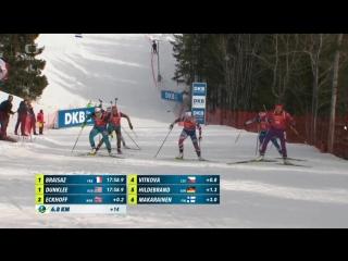 Veverka na světovém poháru v biatlonu Oslo - Squirrel in biathlon Oslo THUG LIFE
