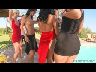 Sandy, Eve Angel, Jasmyne, Naomy, Natalli DiAngelo, Simone Peach - Share the fun! - part 1.