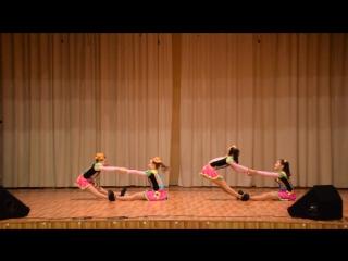Акробатический этюд. Образцовый танцевально-акробатический коллектив