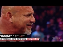 Goldberg accepts Brock Lesnar's Wrestlemania challenge: RAW, 06/02/2017