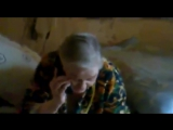 Бабка материться в телефон! Старая матершинница.mp4