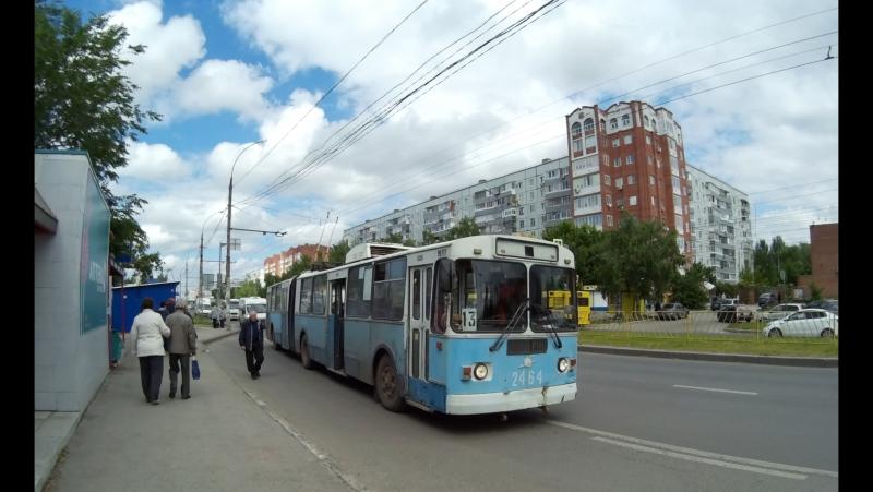 Троллейбус ЗИУ 620520 №2464 г Тольятти