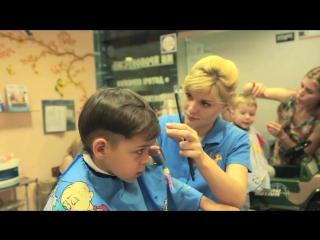 Реклама - стрижки в детской парикмахерской Симпа в Киеве
