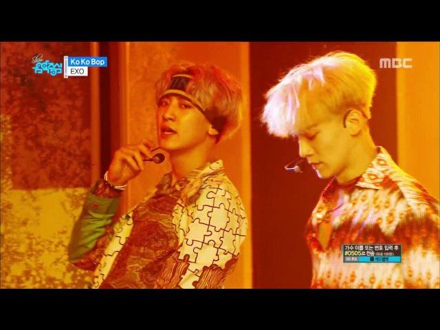 [VIDEO] 170722 EXO - Ko Ko Bop @ Show Music core