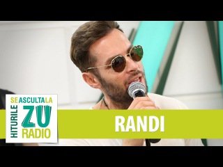 Randi - Puteri asupra mea (Live la Radio ZU)