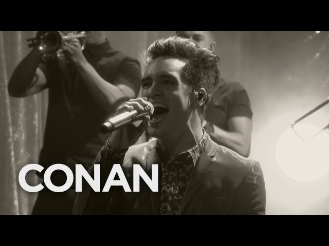 Panic! At The Disco Death Of A Bachelor 092216 - CONAN on TBS