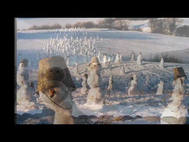 Воскресенье - Слепили бабу на морозе