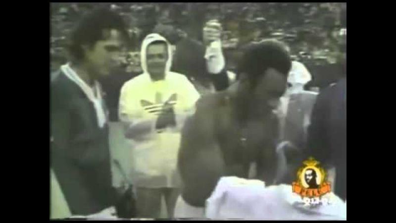 PELE Farewell Game Pele vs santos new york cosmos