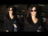 CUTE Katrina Kaif SPOTTED At Mumbai Airport.