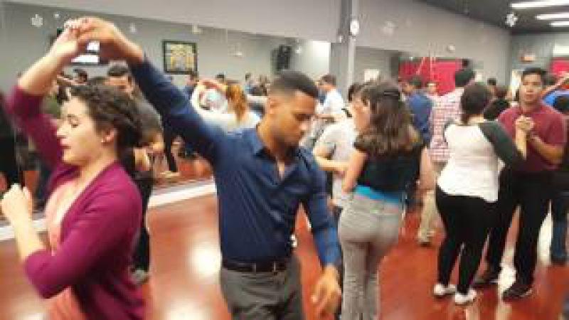 Social Dancing 1- Merengue - 3/6/16 Class - Salsa Con El Pelon