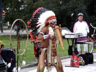 Indianie winoujcie 09/2011, Straenmusiker, Indian Sound, Apache - ein echtes Supertalent