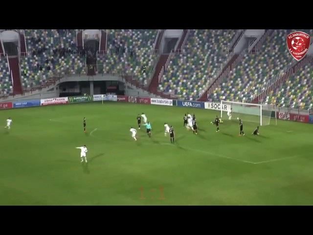 Rasim Ramaldanov amazing goal - Saburtalo 6 : 1 Kolkheti-1913 Poti