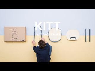 KITT - Flat pack chair for HAY