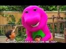 Barney - Theme Song - I Love You Song
