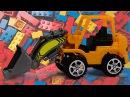 Мультфильмы для детей про машинки и Трактор Павлик! Конструктор: Трансформеры и Машинки - Все серии.