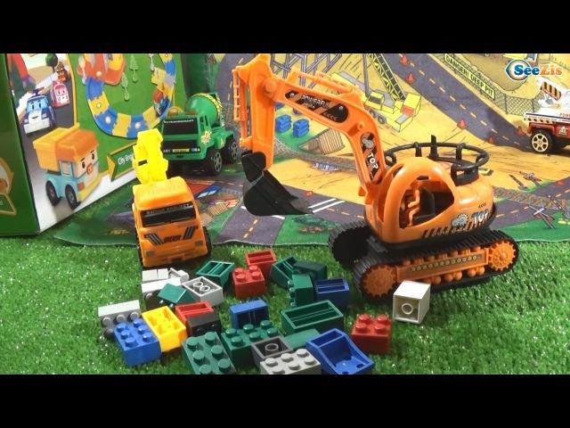 Экскаватор. Мультфильмы про Рабочие Машинки и Игрушки для детей - Тики Таки!