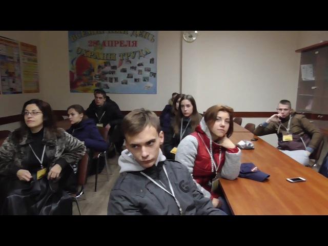 Практичні заняття зі студентами 2 курсу на ООО техноком Мівіна