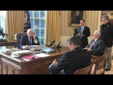 Вести.Ru: 45 минут длился телефонный разговор Путина и Трампа