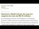 Paolo Guerrero troca casa com Emerson Sheik por uma mais barata! Qual será o motivo?