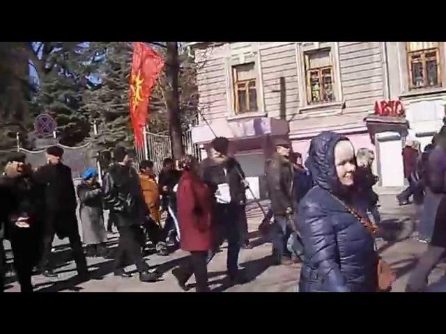 6 апреля 2014. Харьков. Под бандерой жить не будем