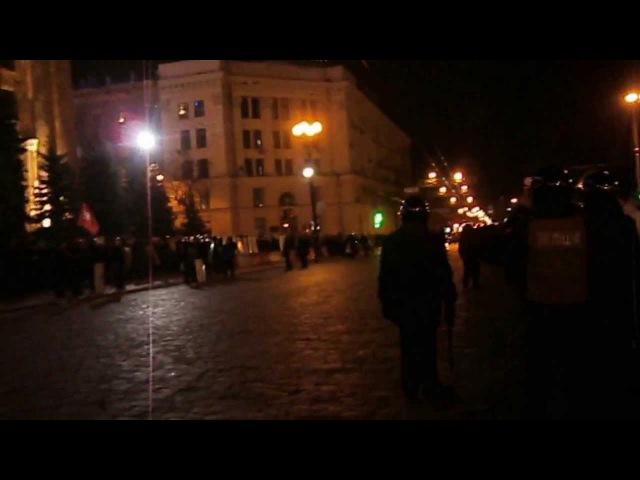 23 февраля. 2014. Харьков. Администрация города.