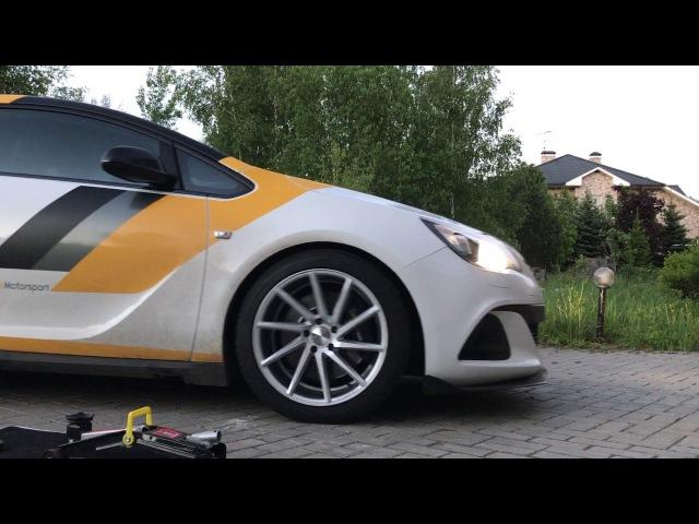 Vossen R19 CVT Opel Astra J OPC