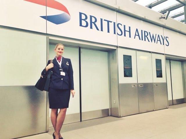 Скандал в британской авиакомпании British Airways/Стюардессы надели наручники на боль ...