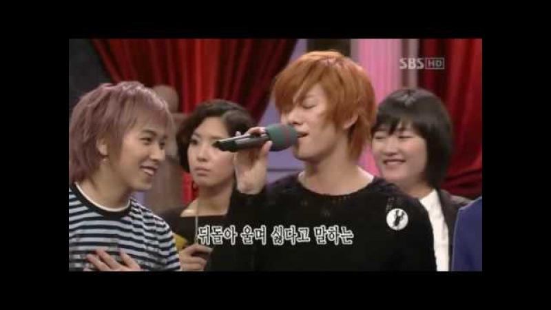 070318 도전천곡 김희철 희야(1000 Songs - Kim Heechul - Heeya)