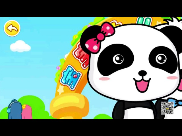 ABC Song for Children wiht Baby Panda Learning The Alphabet Nursery Rhymes by BooBoo
