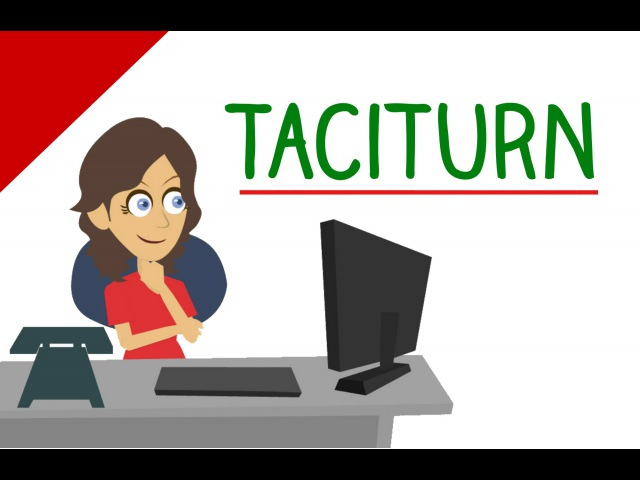 Learn English Words - Taciturn (Vocabulary Video)