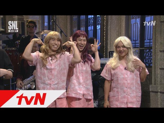 SNL9 레드벨벳의 라이벌 레드모시 등장 미는 곡은 ′삼계탕맛′ 오프닝 170722 EP 1