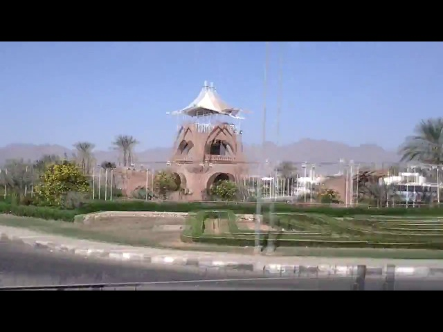 ★Египет★Часть 5★Дорога от отеля до Аэропорта Шарм-эль-Шейх★