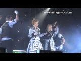 МИРАЖ 2011 Светлана Разина и Маргарита Суханкина - Эта ночь Екатеринбург, 19.03.2011