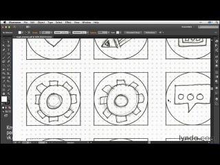 Создание иконок в Illustrator'е