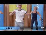Интервальная кардио тренировка для начинающих/среднего уровня. Beginner/intermediate interval cardio workout - Cardio starter 2!