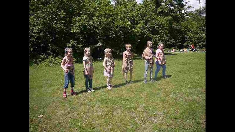 Лизий ДР 9 Танец первобытных детей 1