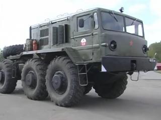 Тест-драйв Маз-537